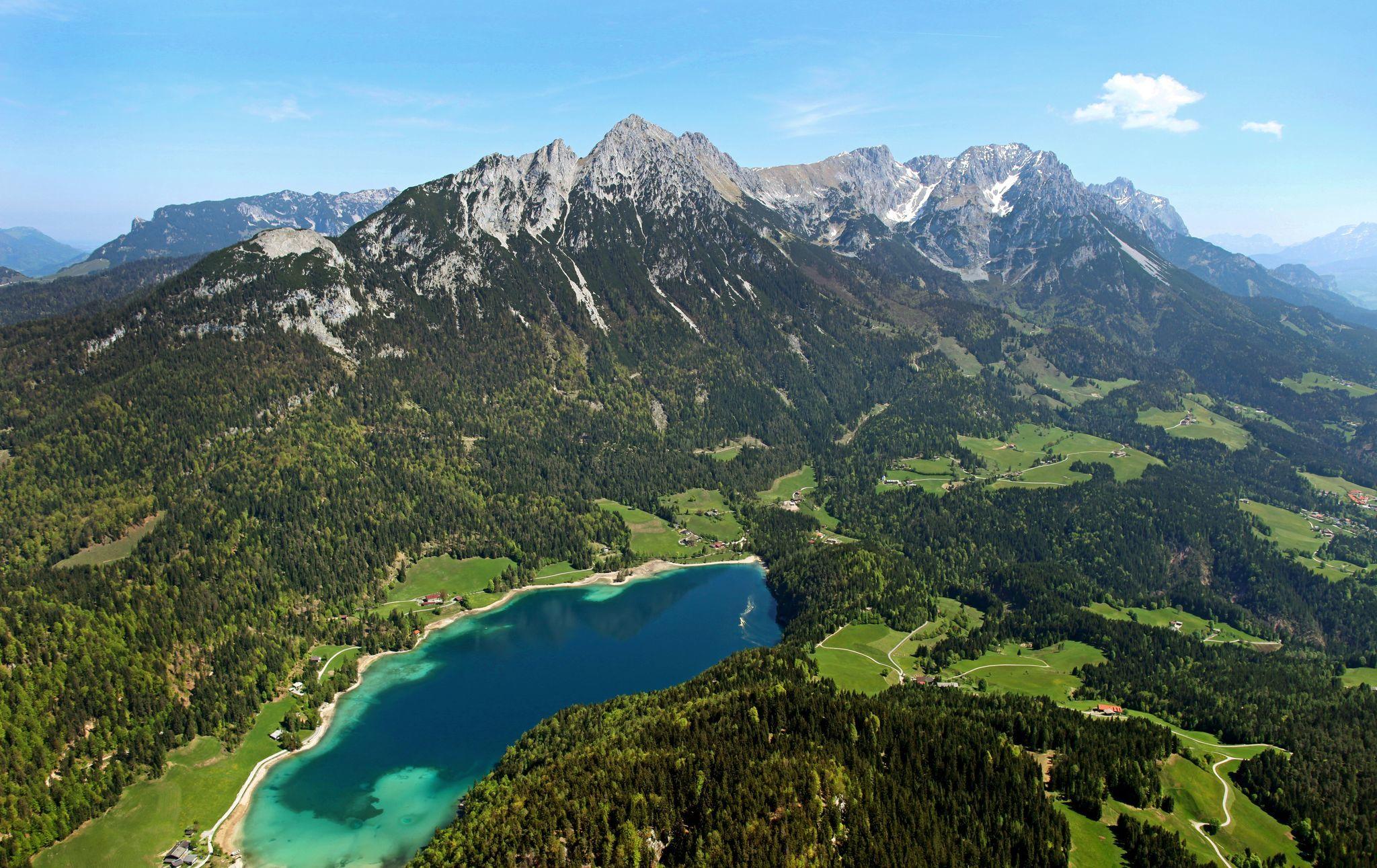 Scheffau_Hintersteiner See_Wilder Kaiser