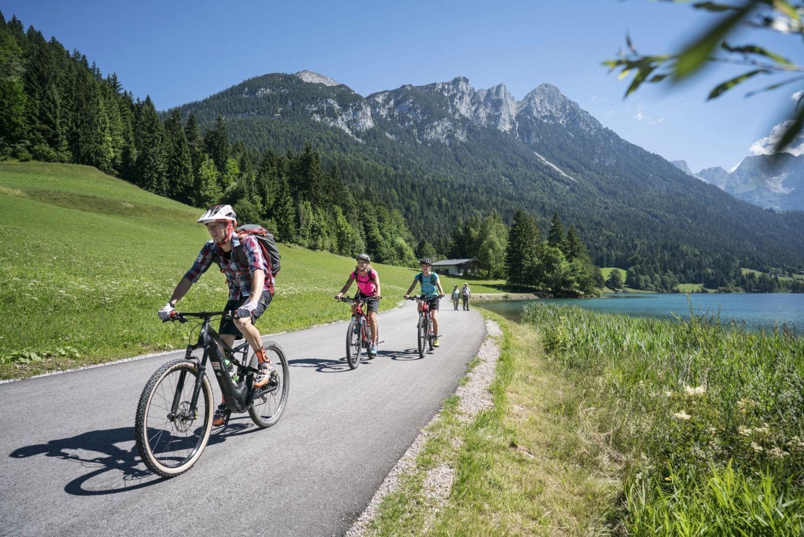 Scheffau_Hintersteiner See_E-Bike_Widler Kaiser