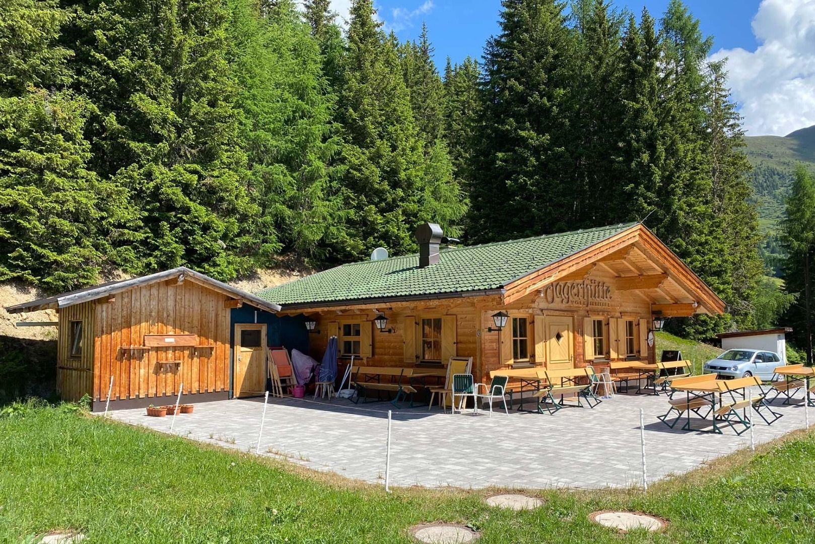 Jagerhütte -  1.846m