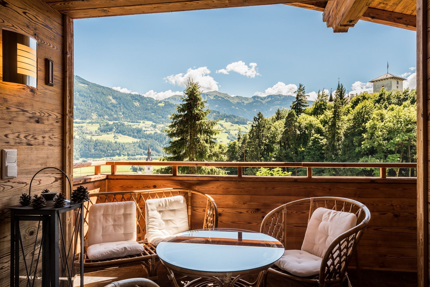 Holiday apartment Chalet Schlossblick