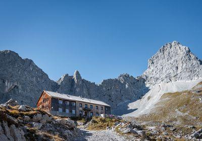 Von der Eng zur Lamsenjochhütte 1