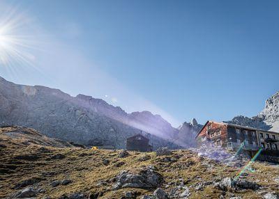 Bärenrast - Lamsenjochhütte - Eng 1