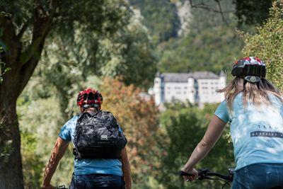 Radtour zum Schloss Tratzberg