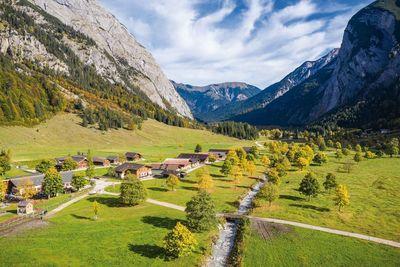 Bärenrast - Lamsenjochhütte - Eng 2